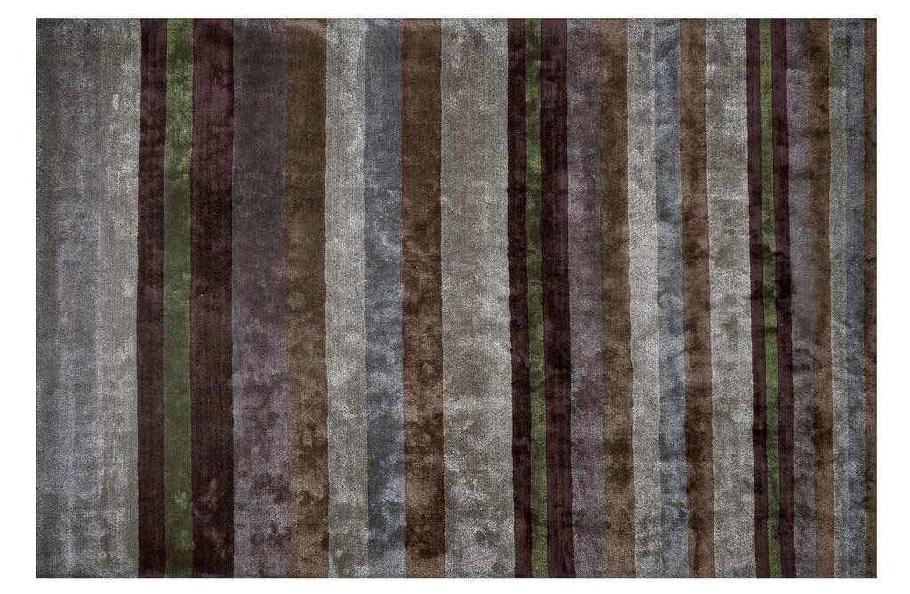Ковер Designers Guild, Tanchoi Graphite Standard Rug - 160 x 260 cm<br>Tanchoi Graphite Large Rug - 200 x 300 cm<br>Tanchoi Graphite Extra Large Rug - 250 x 350 cm