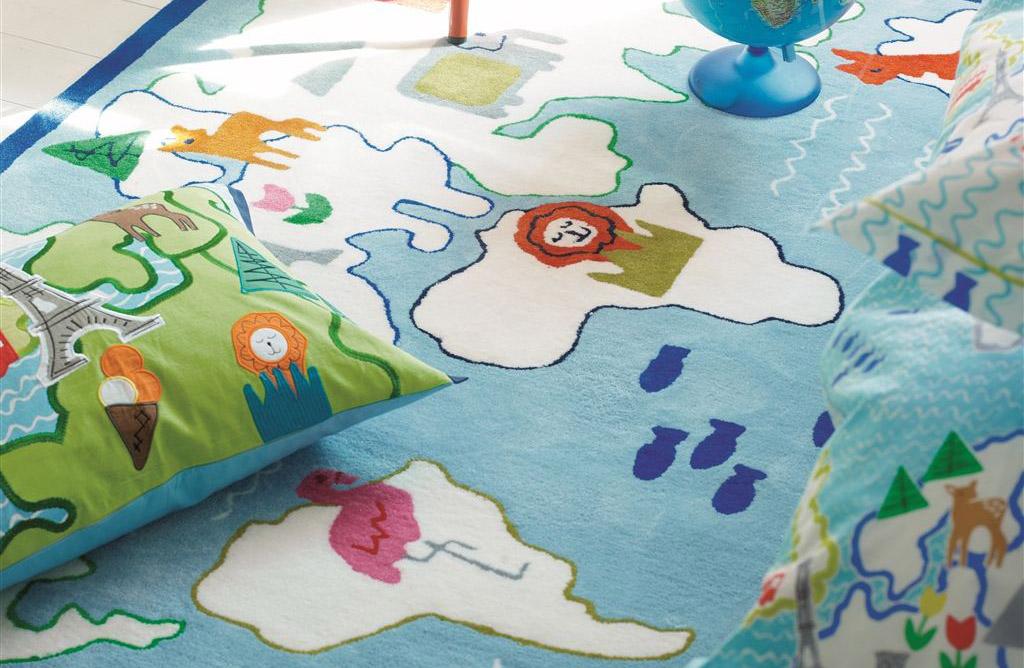 Ковер Designers Guild, Around The World Kids Детский Ковер - 170 x 120cm