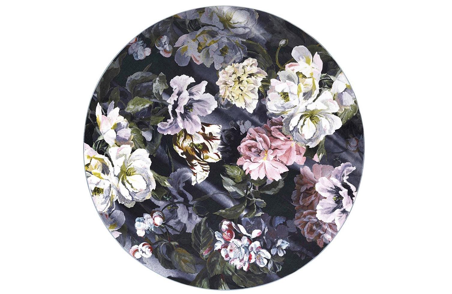 Ковер Designers Guild, Delft Flower Noir Rug - 250 x 250cm