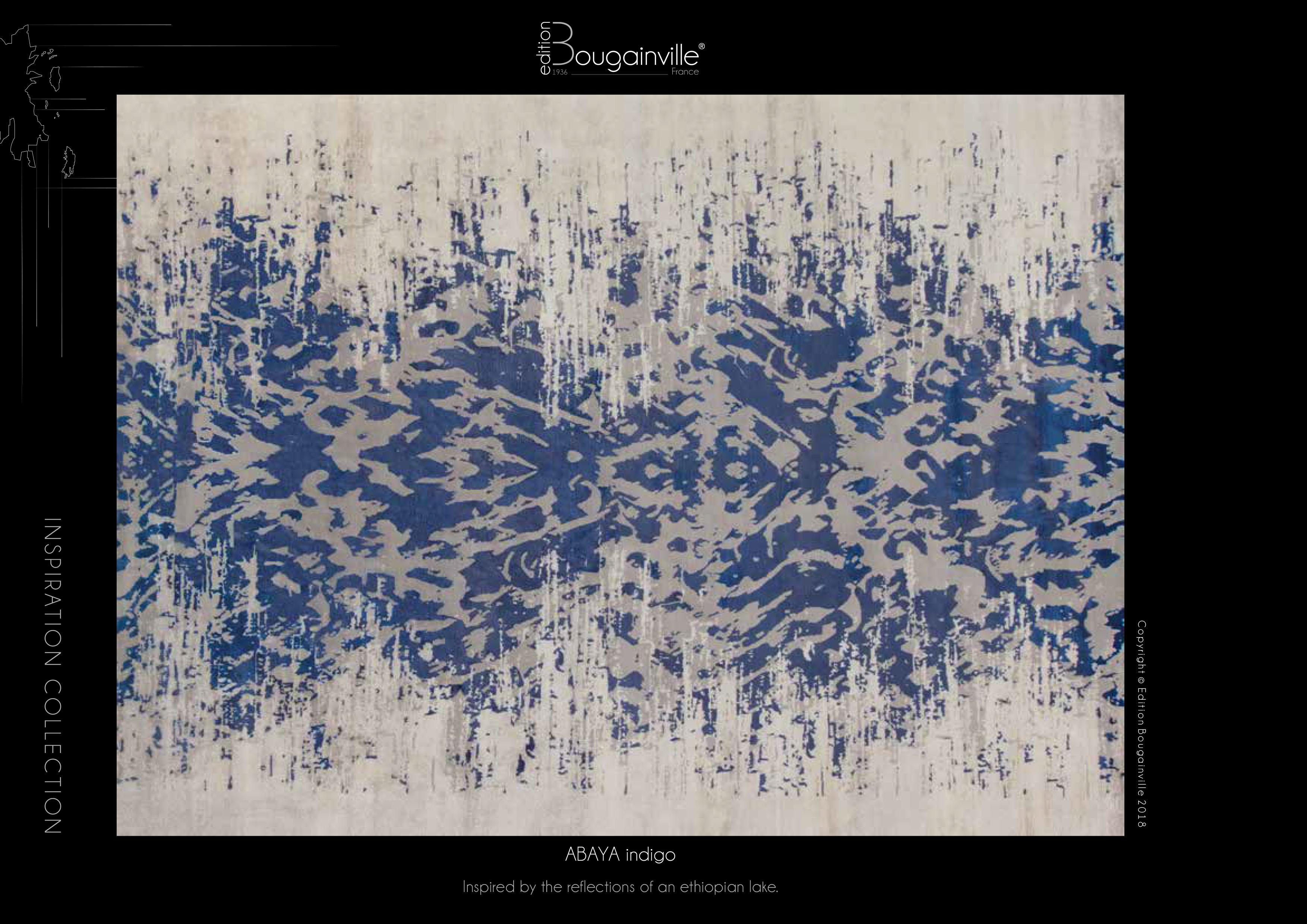 Ковер Edition Bougainville, ABAYA indigo