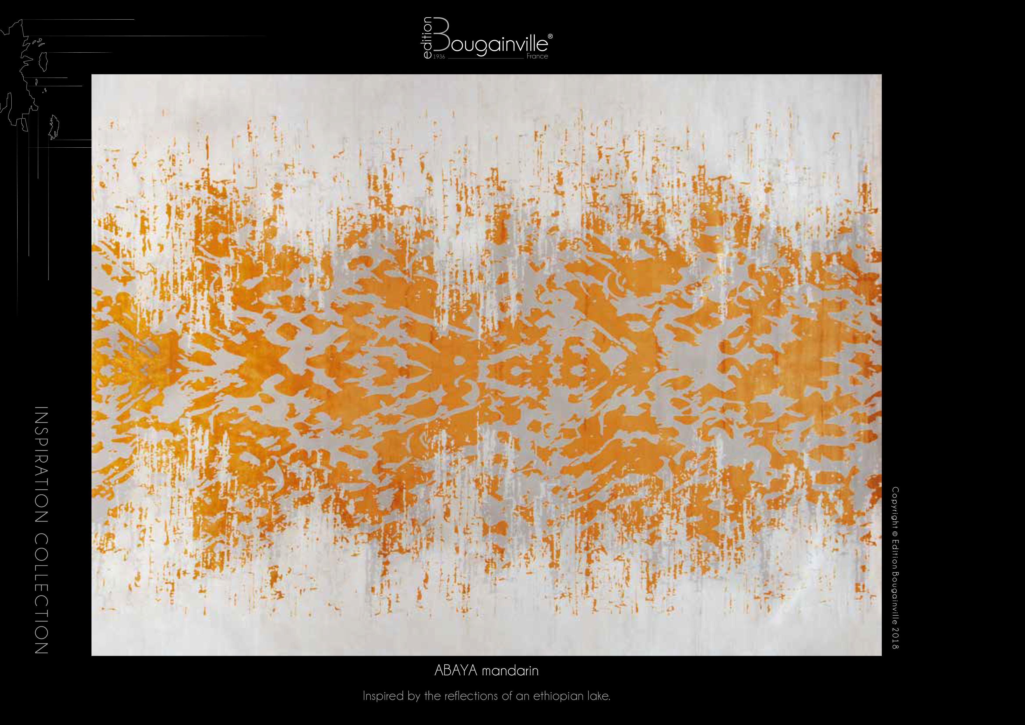 Ковер Edition Bougainville, ABAYA mandarin