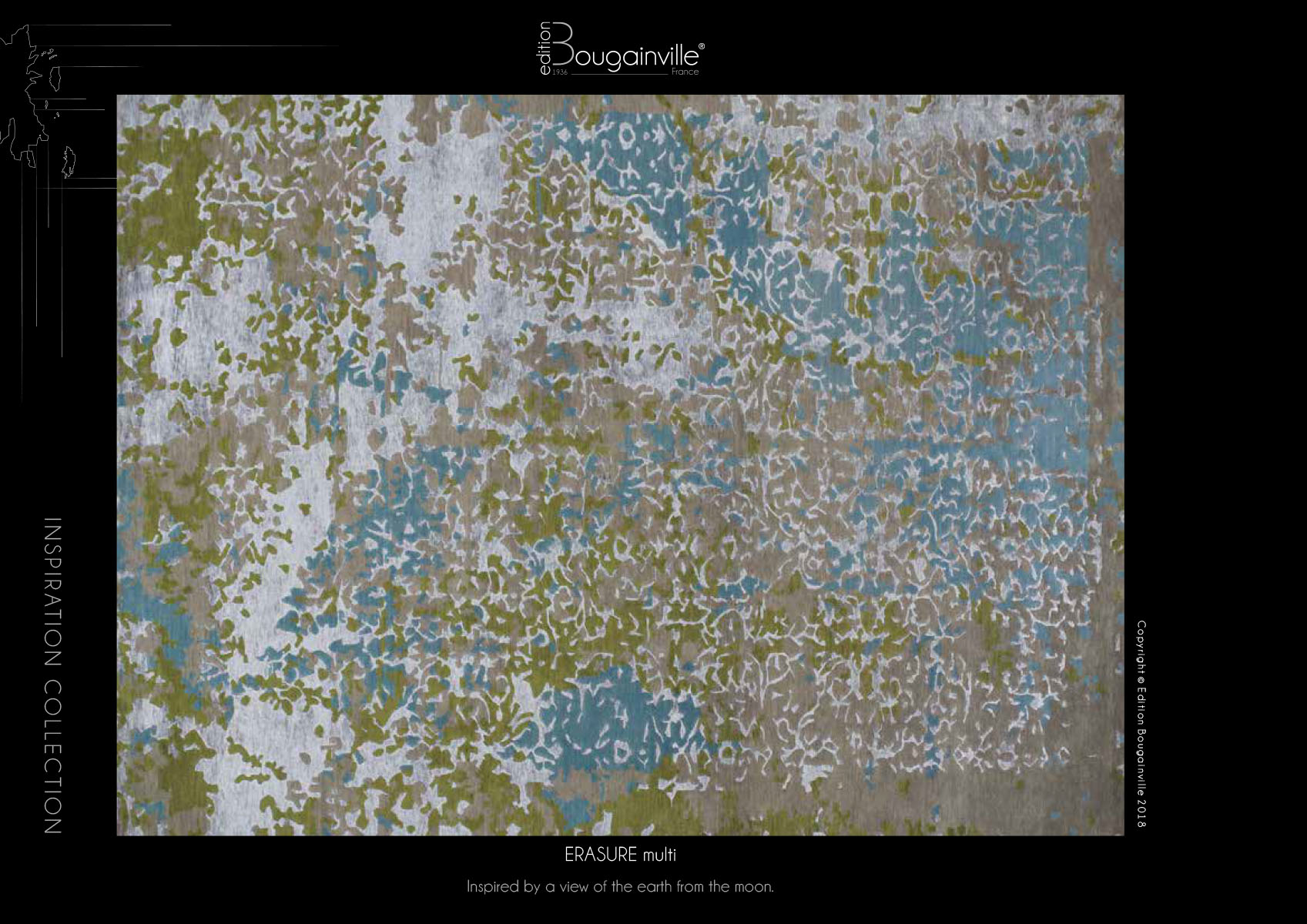 Ковер Edition Bougainville, ERASURE multi