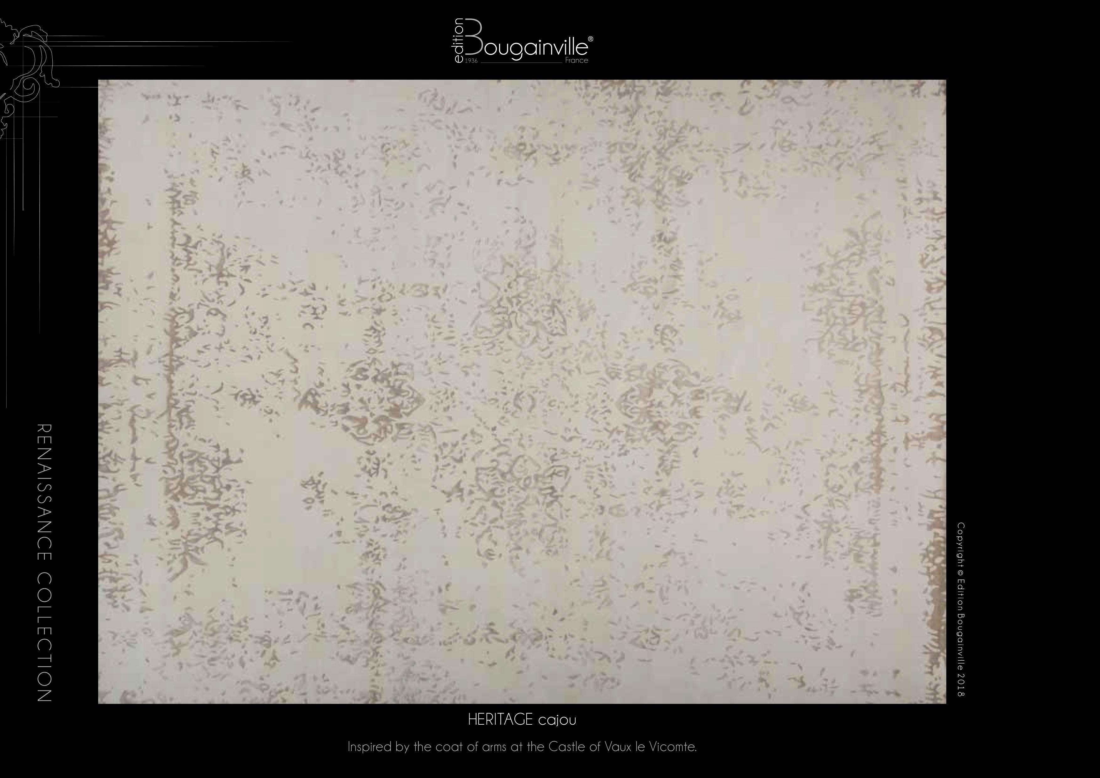 Ковер Edition Bougainville, HERITAGE cajou