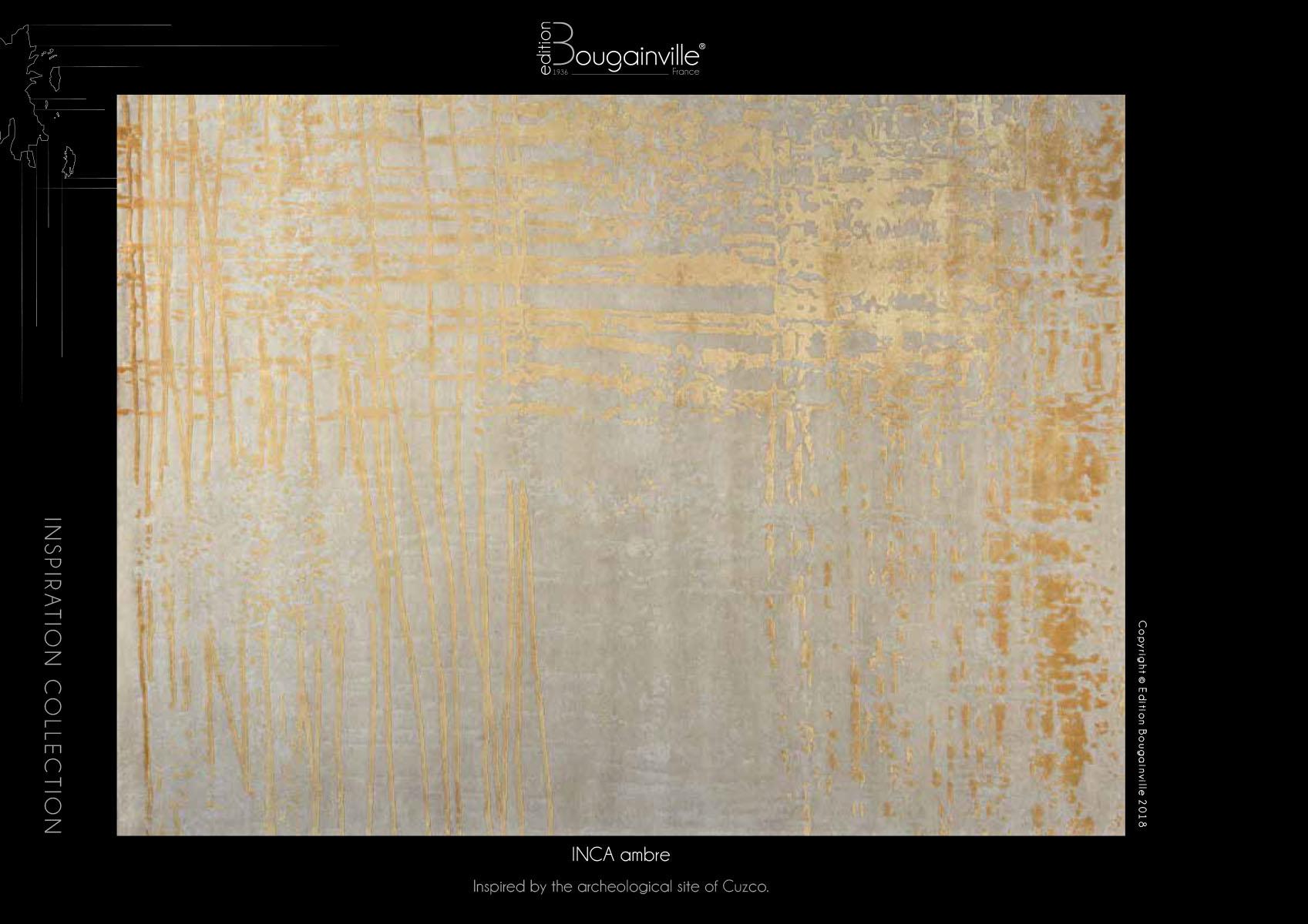 Ковер Edition Bougainville, INCA ambre