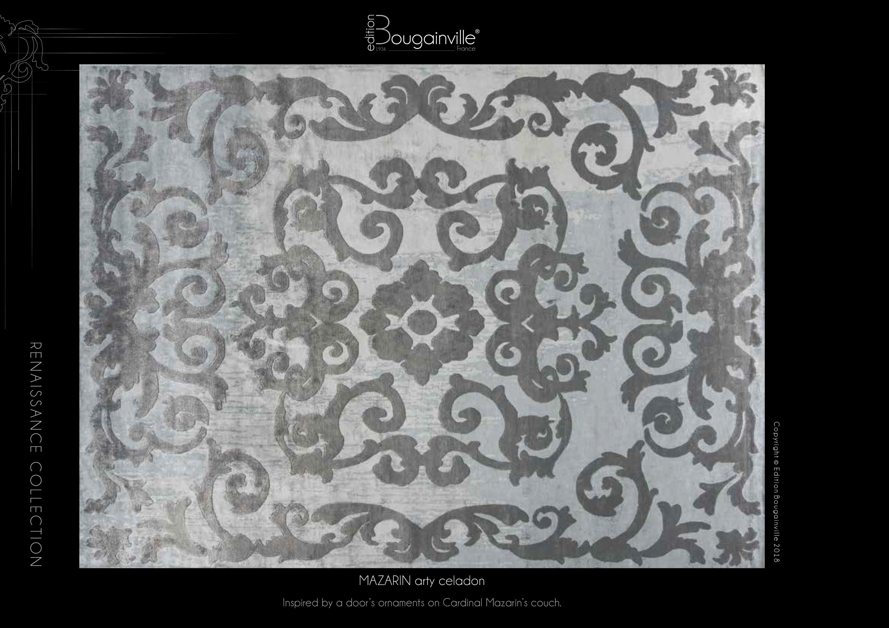 Ковер Edition Bougainville, MAZARIN arty celadon