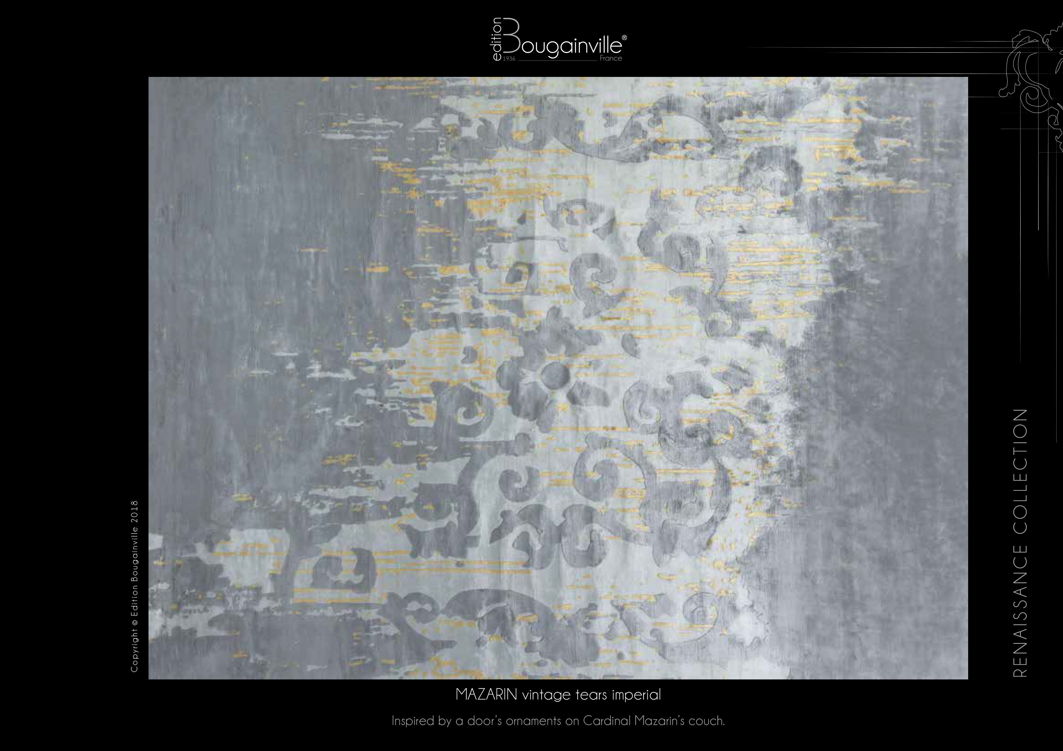 Ковер Edition Bougainville, MAZARIN vintage tears imperial