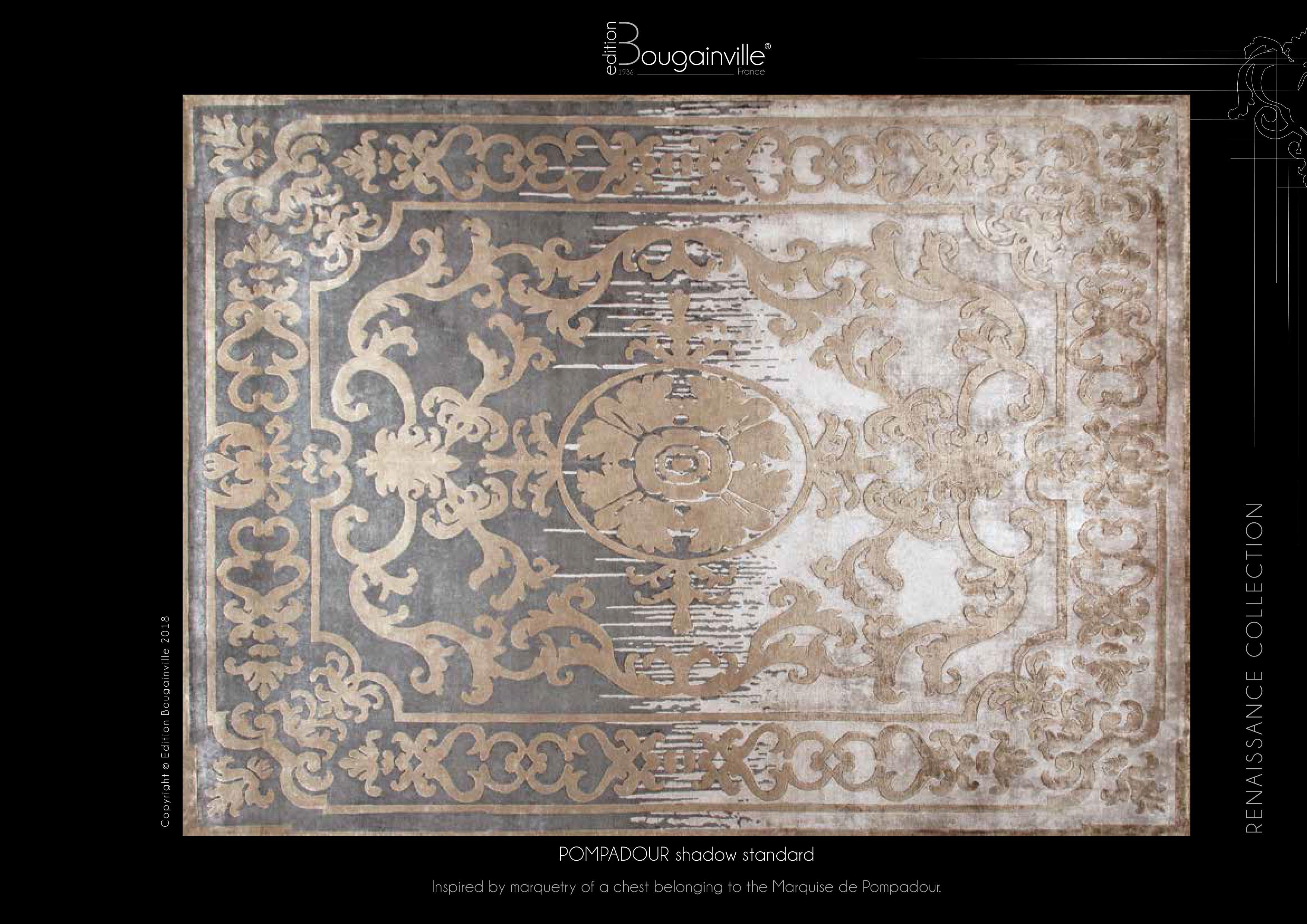 Ковер Edition Bougainville, POMPADOUR shadow standard