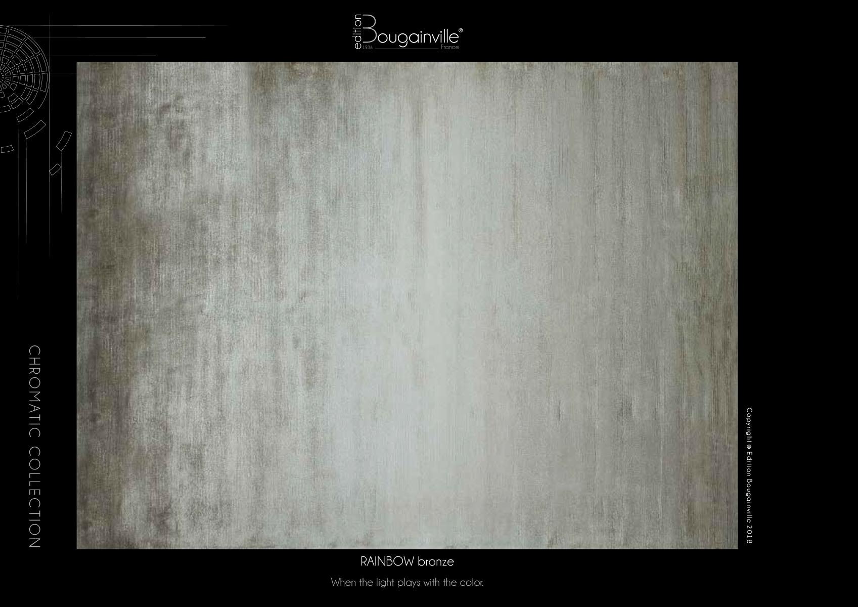 Ковер Edition Bougainville, RAINBOW bronze