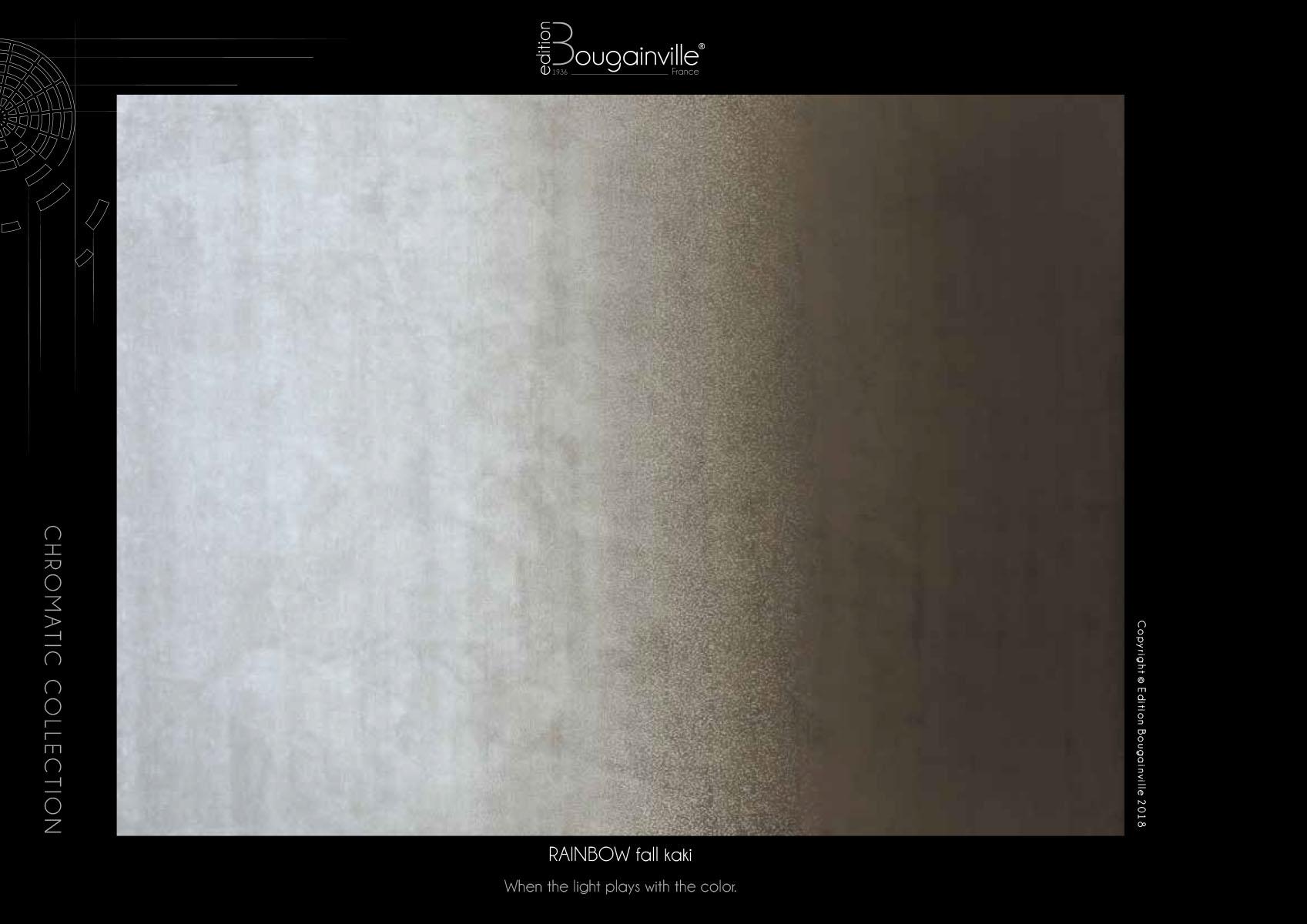 Ковер Edition Bougainville, RAINBOW fall kaki