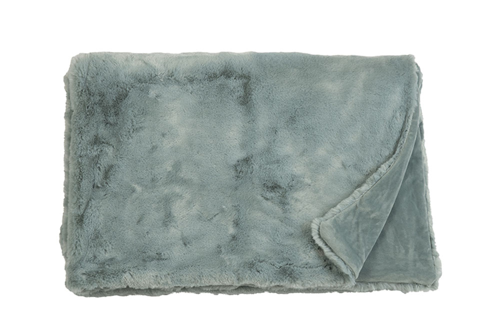 Плед Fine, Collection: Furry<br>Material: Fell / Fur: 80 % PAN / 20 % PES, Ruckseite / Rear: 100 % PES<br>Size: 140 x 190 cm<br>FURRY цвет BLUE