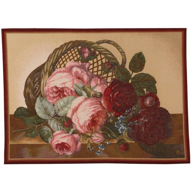 "Art De Lys, Ref.0004c; Bunch of flowers<br>110 x 150 cm - 43"" x 59""<br>75 x 110 cm - 29"" x 43"""