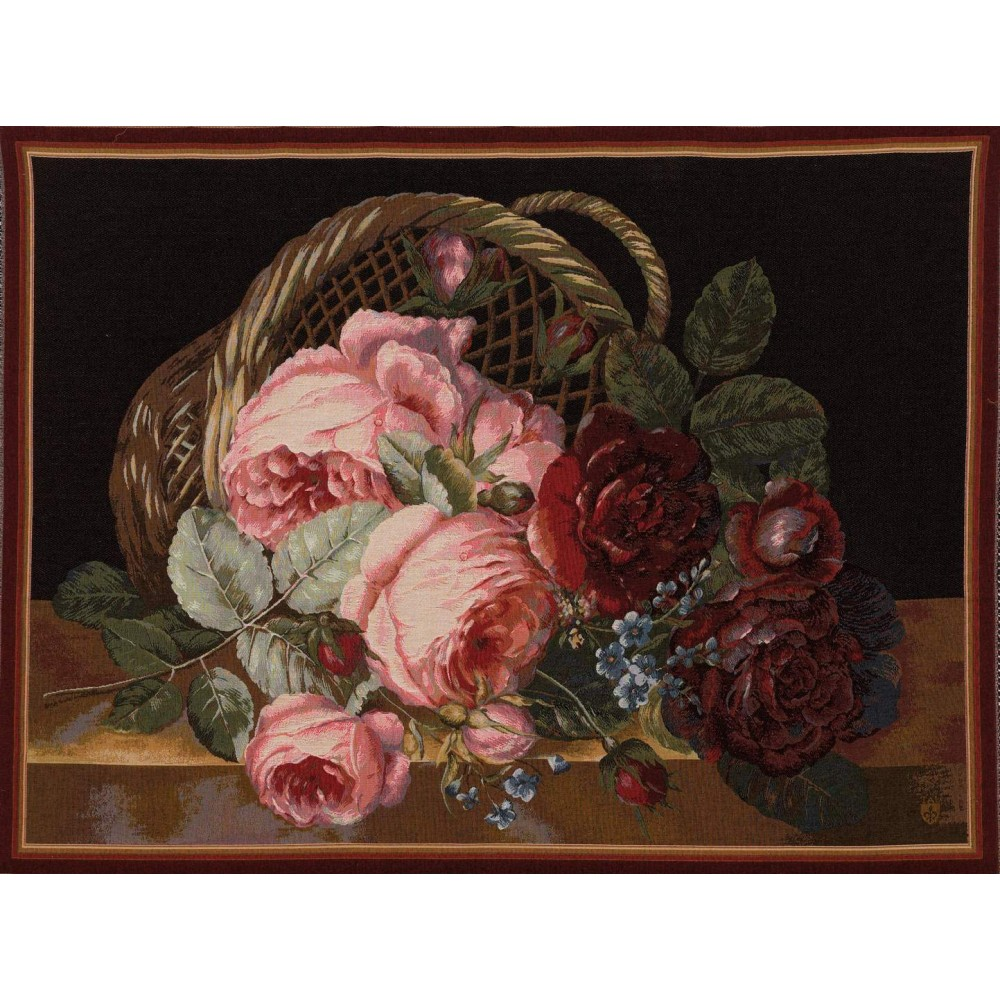 "Art De Lys, Ref.0004f; Bunch of flowers<br>110 x 150 cm - 43"" x 59""<br>75 x 110 cm - 29"" x 43"""