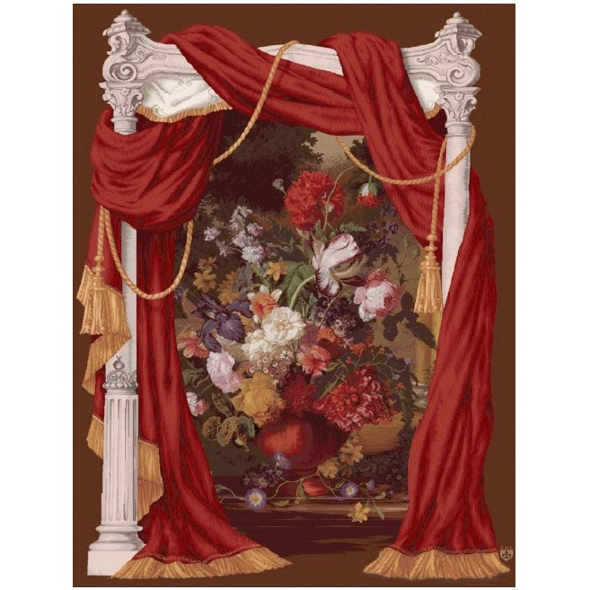"""Art De Lys, Ref.1196; Bouquet theatral<br>150 x 110 cm - 59"""" x 43""""<br>200 x 150 cm - 78"""" x 59"""""""