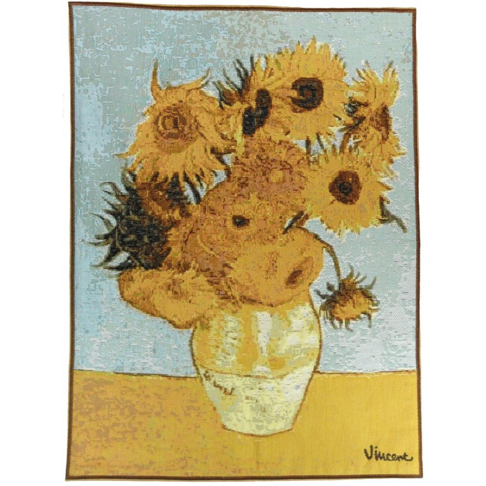 "Art De Lys, Ref.5139a; Bunch of flowers by Van Gogh<br>67 x 50 cm - 26"" x 20"""