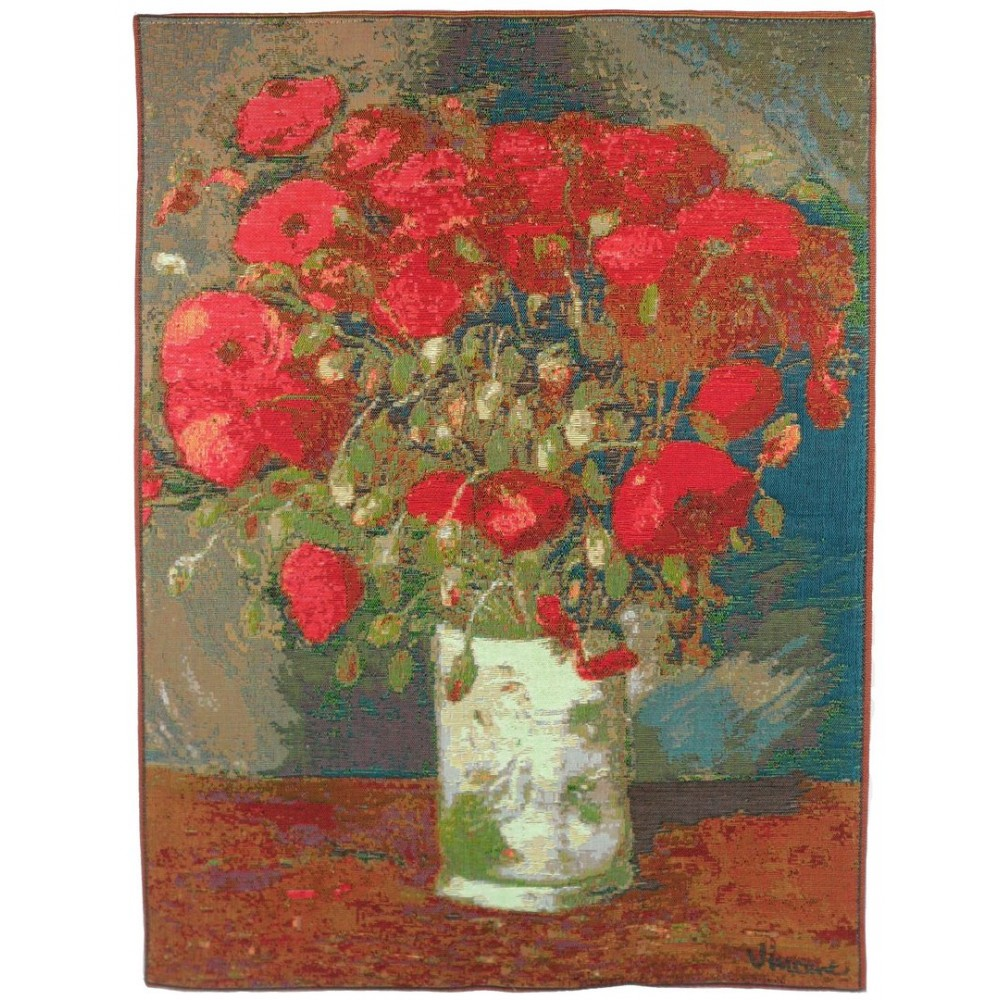 "Art De Lys, Ref.5140; Bunch of poppies by Van Gogh<br>67 x 50 cm - 26"" x 20"""