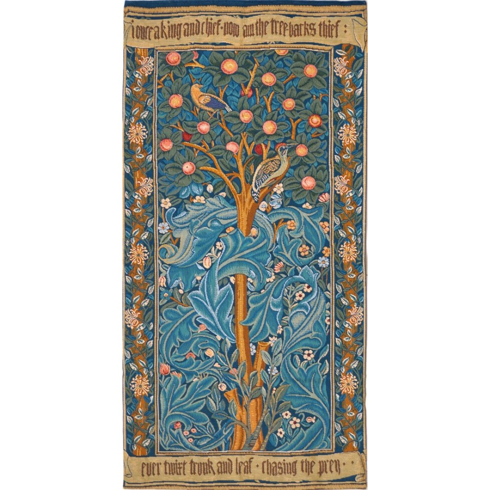 """Art De Lys, Ref.7547; The Woodpecker, with parchment<br>100 x 50 cm - 39"""" x 20""""<br>154 x 75 cm - 60"""" x 29"""""""