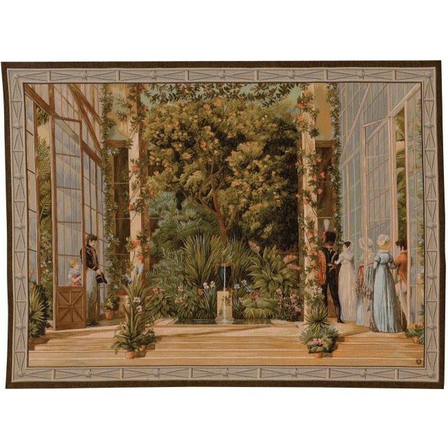 "Art De Lys, Ref.9227; The Big Greenhouse<br>110 x 150 cm - 43"" x 59""<br>150 x 200 cm - 59"" x 78"""