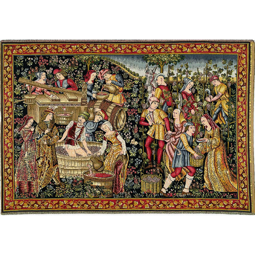 Art De Lys, Grandes Vendanges Ref. 8052<br>150 X 220 cm Х 110 X 150 cm