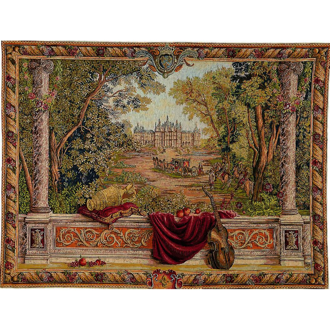 Art De Lys, Verdure au ch?teau Ref. 9004<br>150 X 200 cm Х 110 X 150 cm Х 85 X 110 cm