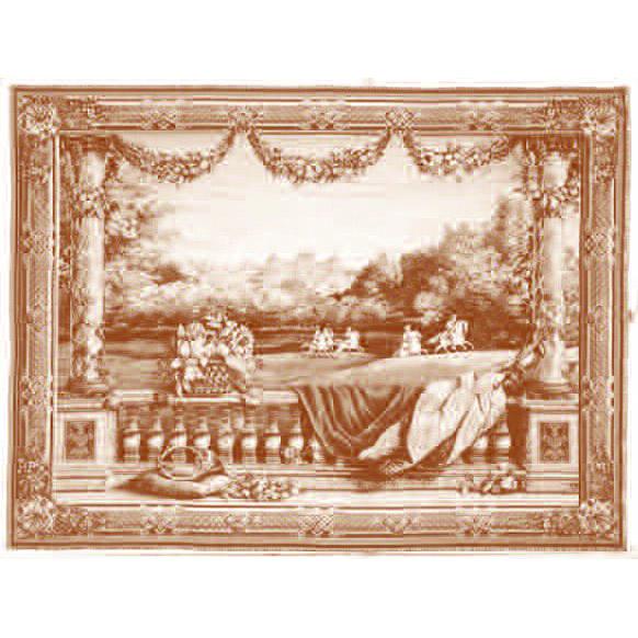Art De Lys, Ch?teau Bellevue Ref. 9042<br>150 X 200 cm Х 110 X 150 cm