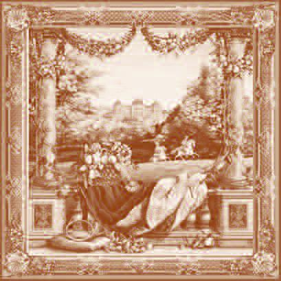 Art De Lys, Ch?teau Bellevue Ref. 9048<br>150 X 150 cm