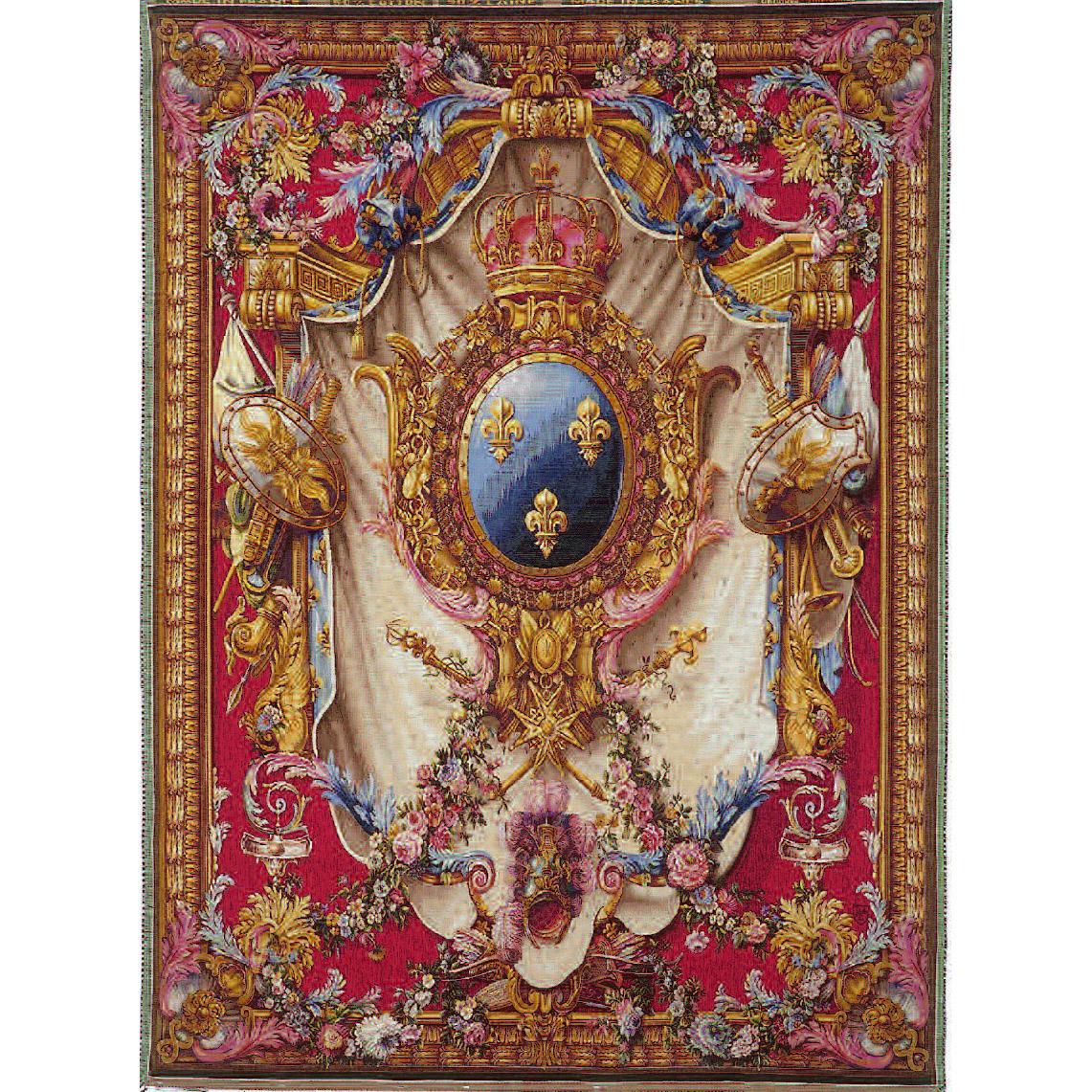 Art De Lys, Grandes Armoiries Ref. 9082<br>200 X 150 cm Х 150 X 110 cm<br>¬озможно размещение вместо королевских лилий ваших инициалов!