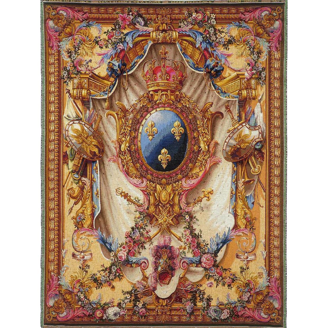 Art De Lys, Grandes Armoiries Ref. 9089<br>200 X 150 cm Х 150 X 110 cm<br>¬озможно размещение вместо королевских лилий ваших инициалов!