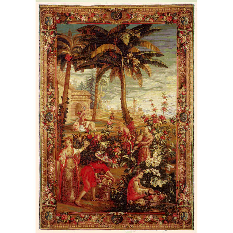 Art De Lys, La recolte des Ananas<br>220 X 150 cm