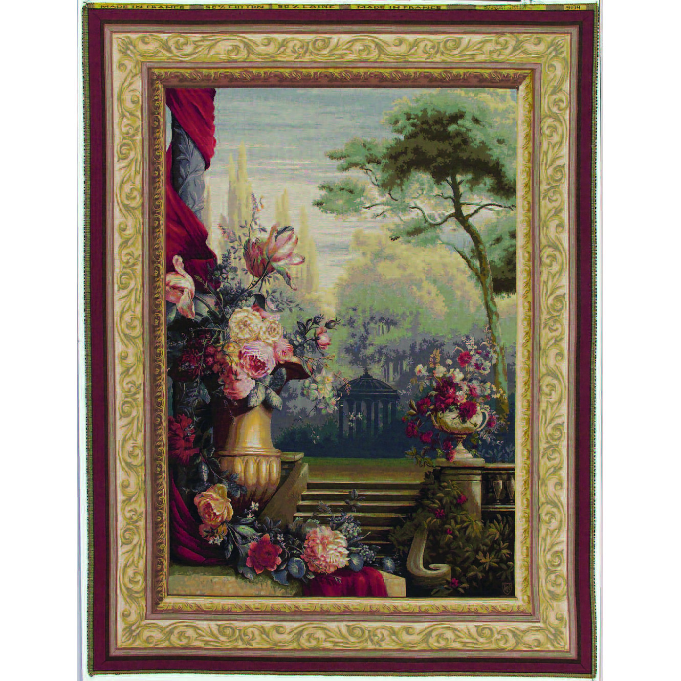 Art De Lys, Bouquet jardin Ref.9109<br>200 x 150 cm 150 x 110 cm