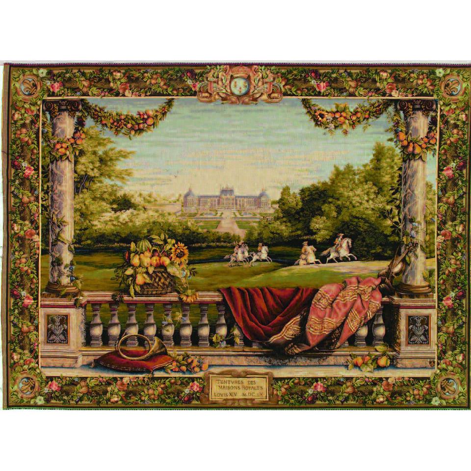 Art De Lys, Terrasse au ch?teau Ref. 9111<br>150 X 200 cm Х 110 X 150 cm