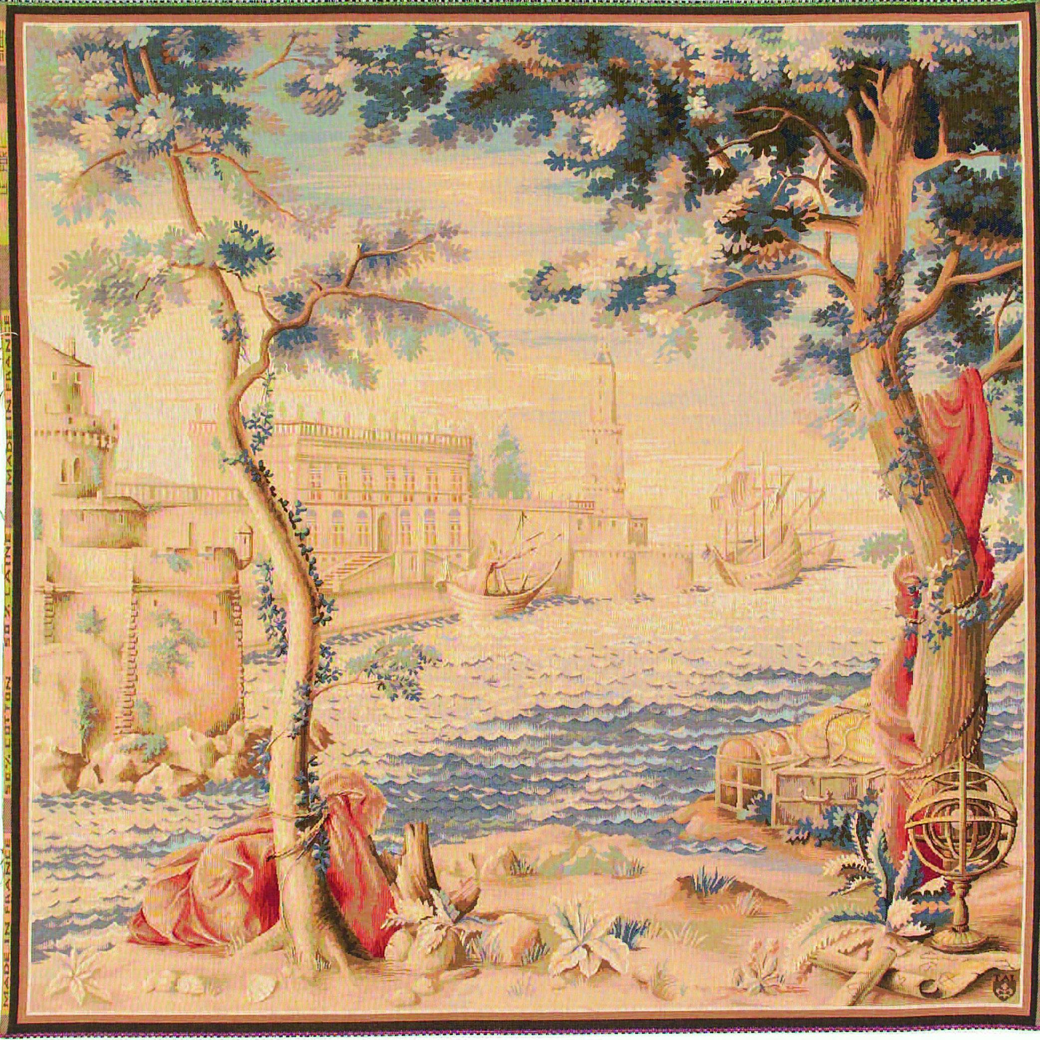 Art De Lys, Le Port Ref. 9122<br>150 X 150 cm