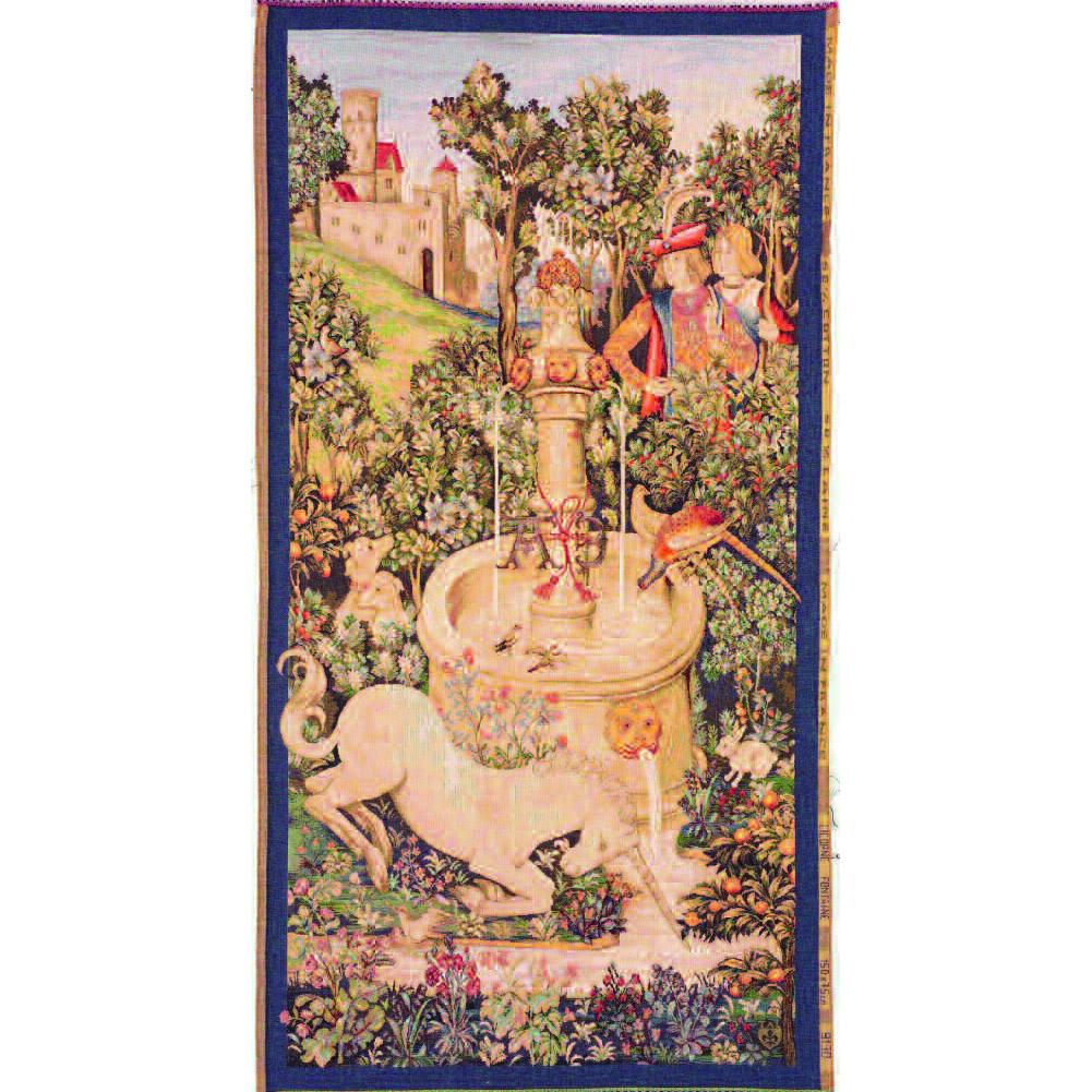 Art De Lys, Licorne ? la fontaine Ref. 9130<br>150 X 75 cm