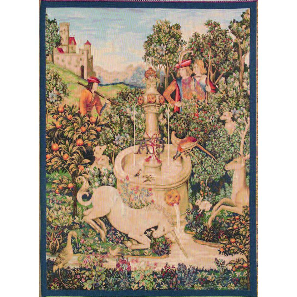 Art De Lys, Licorne ? la fontaine Ref. 9137<br>150 X 110 cm