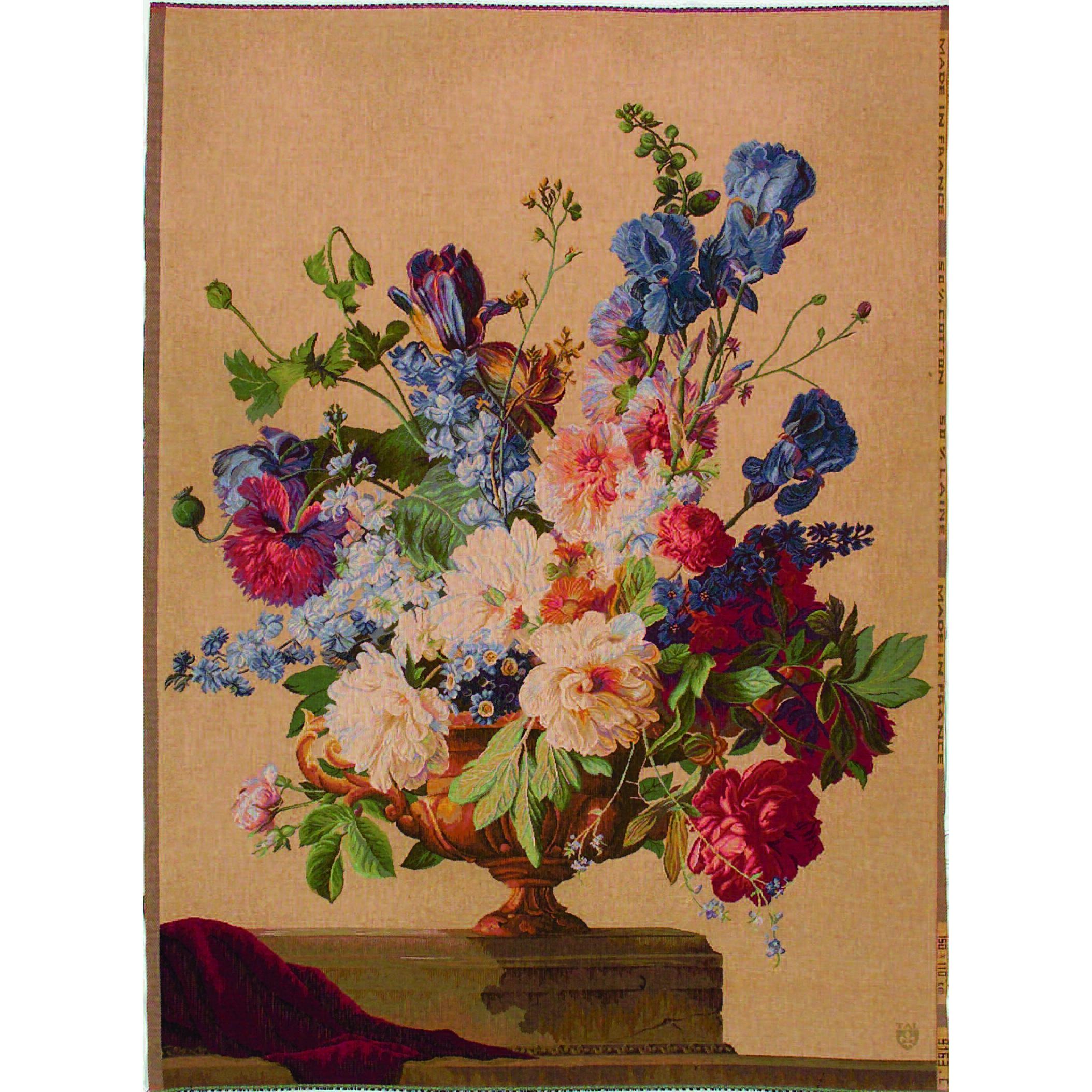 Art De Lys, Bouquet Iris clair Ref. 9163c<br>150 X 110 cm