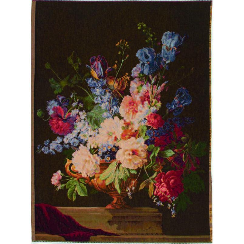 Art De Lys, Bouquet Iris fonce Ref. 9163f<br>150 X 110 cm
