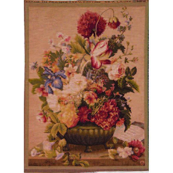 Art De Lys, Bouquet Tulipe clair Ref. 9164c<br>100 X 75 cm