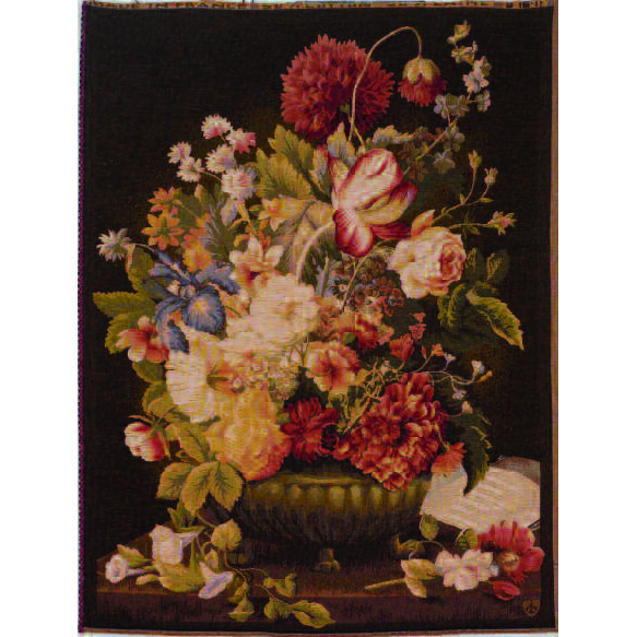 Art De Lys, Bouquet Tulipe fonce Ref. 9164f<br>100 X 75 cm