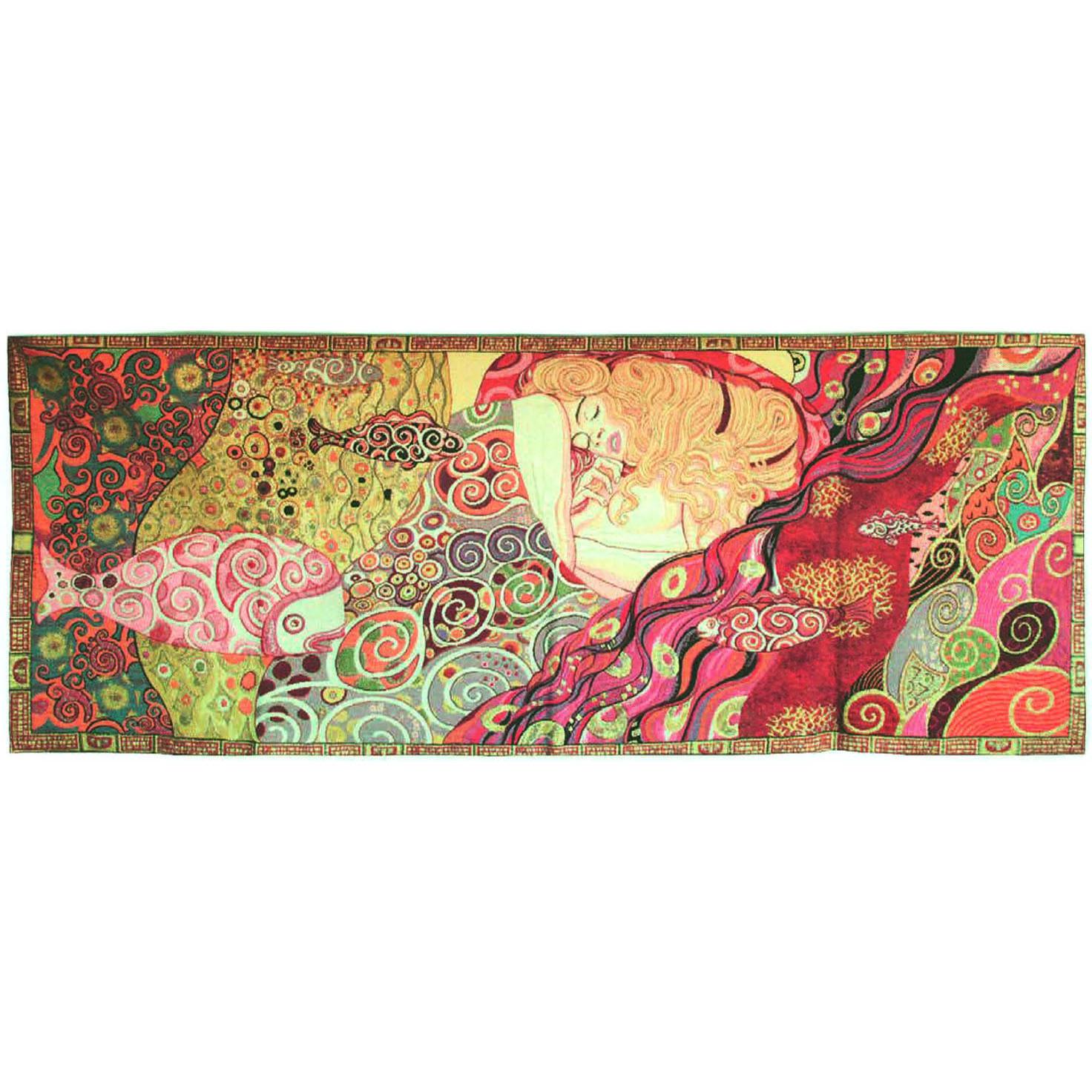 Luka, T1487 Danae Gustav Klimt  <br> Гобелен Даная Густав Климт <br>размер 155х065