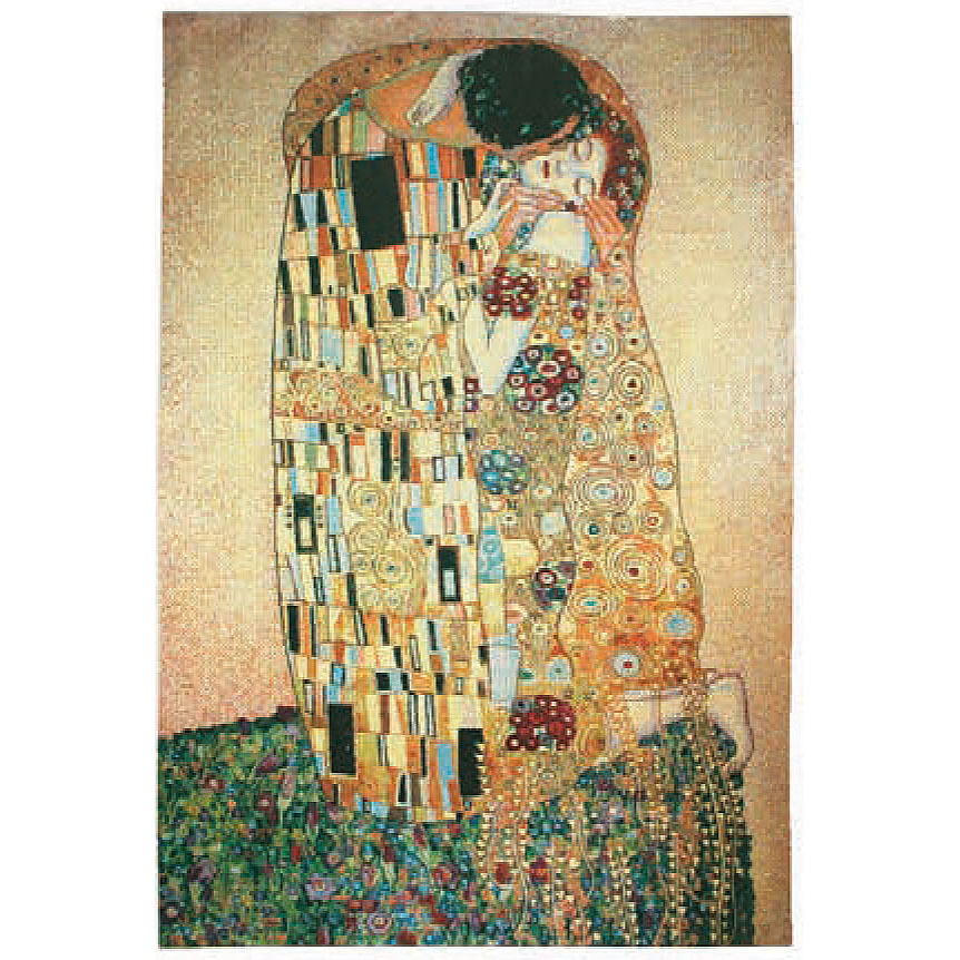 Luka, T1182 Der Kuss Gustav Klimt <br> Гобелен Поцелуй Густав Климт <br> размеры 065х090, 095*140