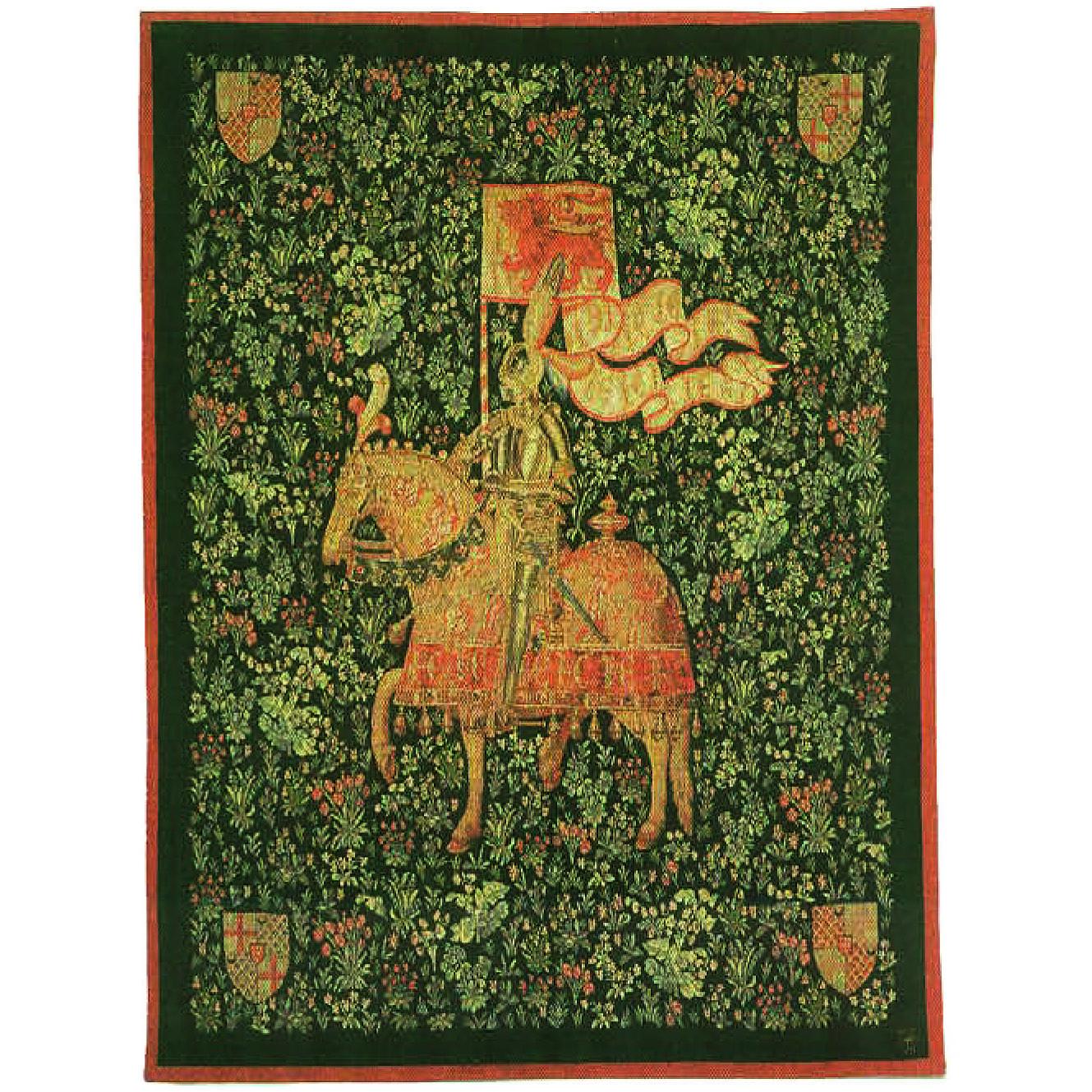 Luka, T1582 Der Ritter х M Le Chevalier  <br> Гобелен Рыцарь <br>размеры 110х150, 150х200