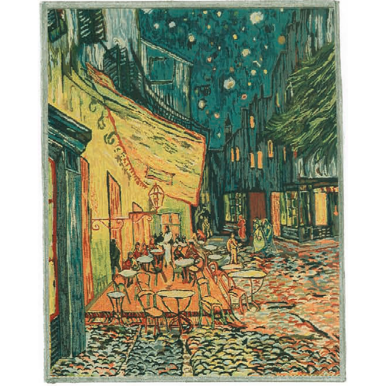Luka, T1680 Die Terrasse<br> Гобелен Терраса <br> размеры 088х105, 128х178, 175х230