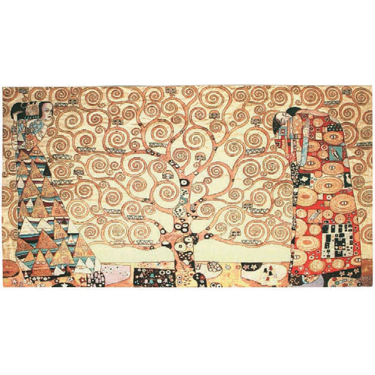 Luka, T1184 Erwartung Gustav Klimt  <br> Гобелен Дерево жизни Густав Климт <br>размер 110х065