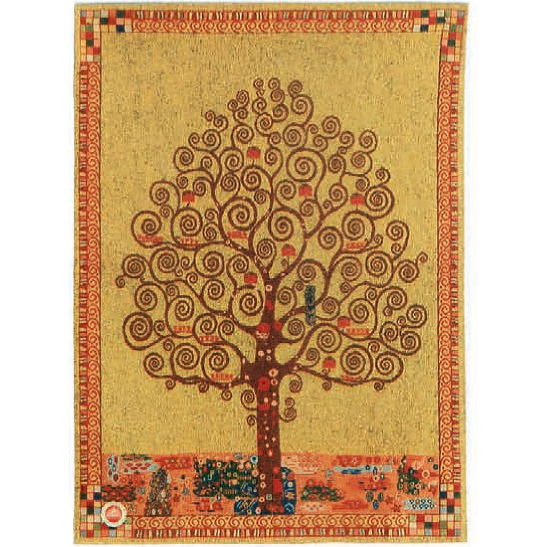 Luka, T1649 Lebensbaum Gustav Klimt <br> Гобелен Дерево жизни Густав Климт <br> размеры 085х110, 125х175, 175х235