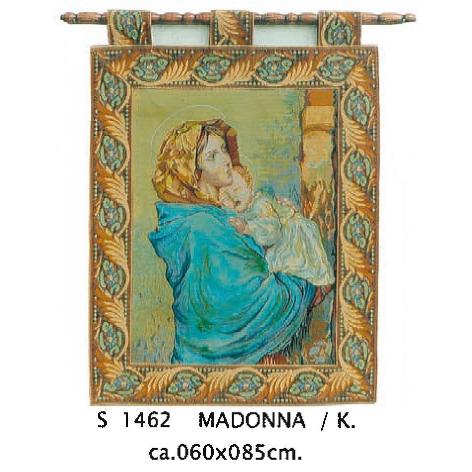 Luka, S1462 Madonna<br> Гобелен Мадонна <br>  размер 060х085