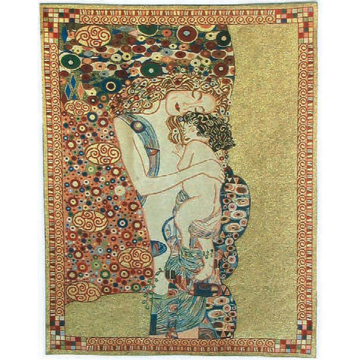 Luka, T1648 Mutterliebe Gustav Klimt <br> Гобелен Любимая мама Густав Климт <br>размеры 085х110, 125х175, 175х240