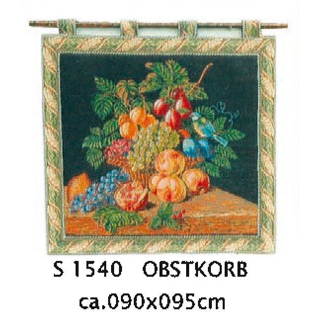 Luka, S1540 Obstkorb <br> Гобелен Корзина с фруктами <br> размер 090х095