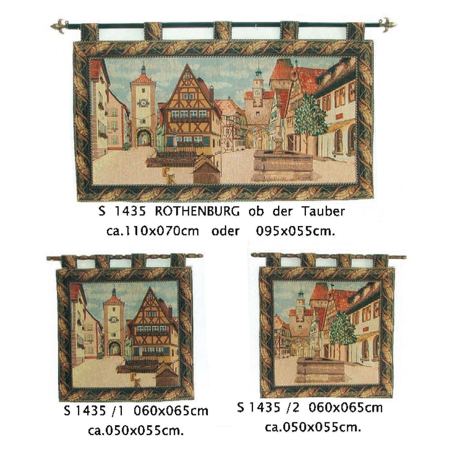 Luka, S1435 Rothenburg ob der Tauber <br> Гобелен Ротенбург-об-дер-Таубер <br> размеры110х070, 095х055, 050х055