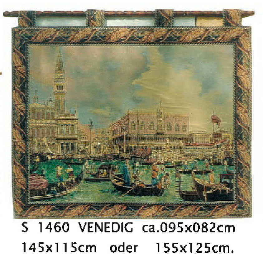 Luka, S1460 Venedic <br> Гобелен Венеция <br>размеры 095х082, 145х115, 155х125