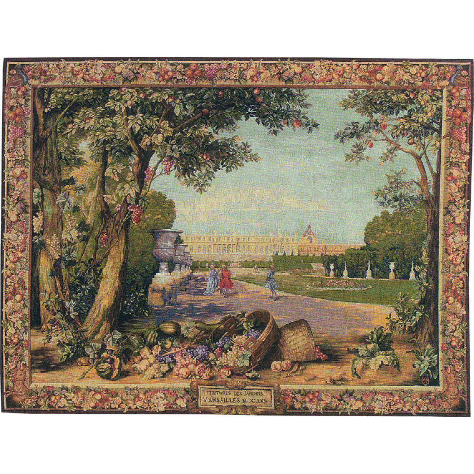 Luka, T1588 Versailles <br> Гобелен Версаль <br>размер 150х110, 200х150