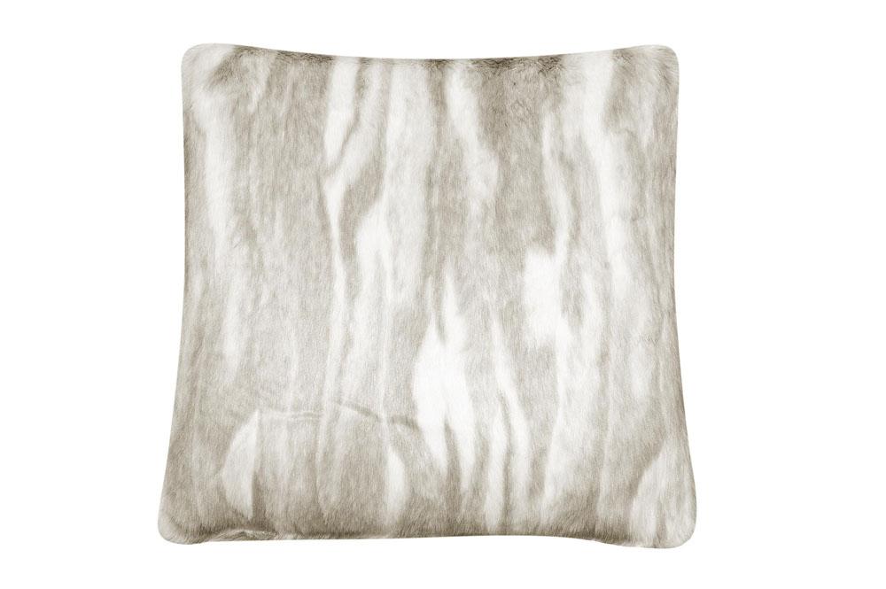 Подушка Fine, Collection: Webpelz<BR>Material: Fell / Fur: 80 % PAN / 20 % PES<BR>Size: 45 x 45 cm<BR>Артикул: CHINCHILLA 110